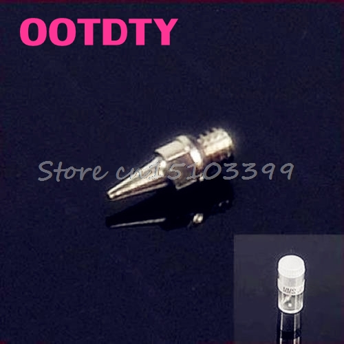 New Airbrush Accessories Machine Part Nozzle 0.2 Mm Replacement With Bottle G08 Whosale&DropShip