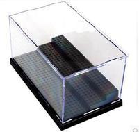 3 schichten acryl plesiglas display box star wars super hero ninjiagoes legoe minifiguren aufbewahrungsbox für spielzeug