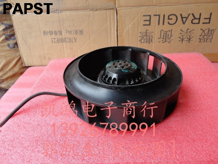 papst R2E220-AA40-25 230V 90W centrifugal blower wheel disc wind Industrial fan original ebm papst r1g175 af39 39 48v centrifugal wind wheel blower cooling fan