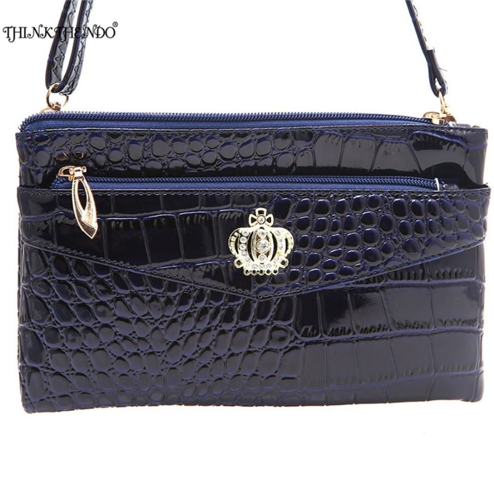 THINKTHENDO Women Clutch Handbag Long Wallet Large Capacity Phone Coin Cash Wallets For Female Carteira Feminina Purse