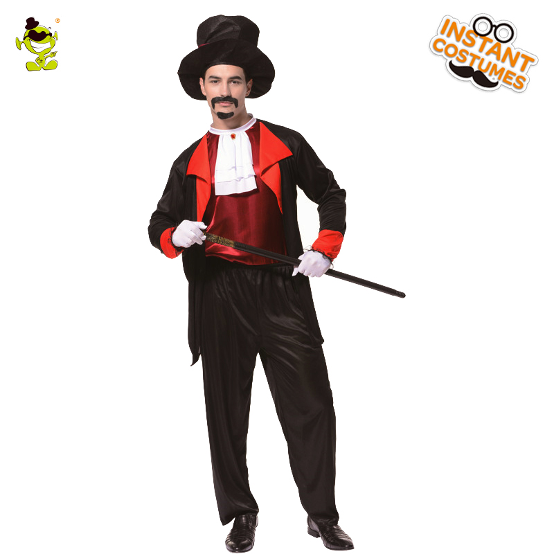 adult count dracula costume halloween fancy dress masquerade party vampire imitation clothing ghost zombie role play - Halloween Dracula Costumes
