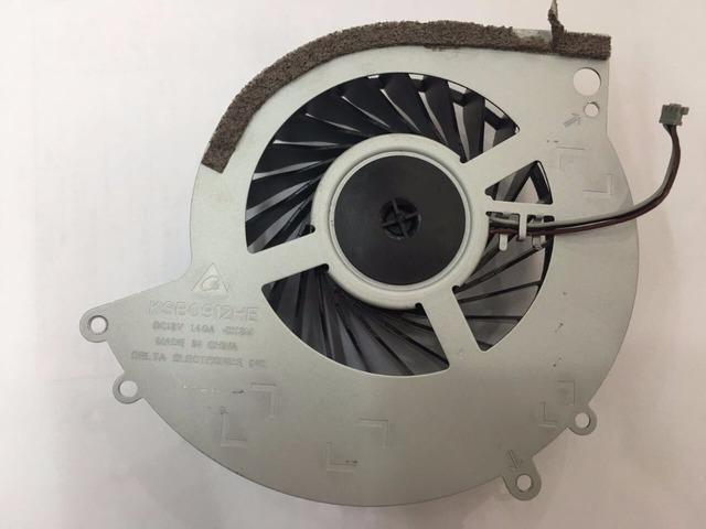 Venta caliente Original Pieza de Reparación para PS4 Consola 1.4A Ventilador Incorporado de Enfriamiento Interno Reemplazo de la Reparación