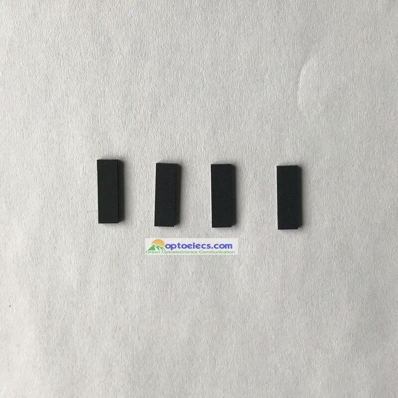 Free Shipping 1 Pair Rubber Pressure Pad Fujikura FSM-50S/60S/62S/70S/80S Fiber Fusion Welding Splicer Rubber Pressure Pad
