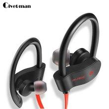 Civetman Super BASS Sport Bluetooth Headphone Ultra-light In-Ear Headset with Mic Universal for Smartphones Tablets