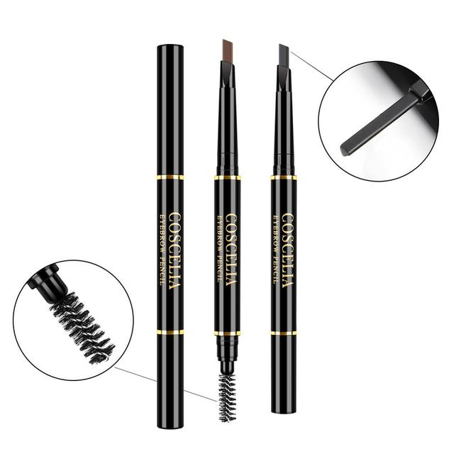 6 Color Lasting Double Ended Eyebrow Pencil For Eyebrows Waterproof No Blooming Rotatable Eyebrows Pen Makeup Cosmetics 2