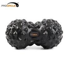 ProCircle булыжник Массажный мяч из искусственной кожи Фитнес шары Для Йоги массаж упражнения триггер терапевтическая, для мышц рельеф