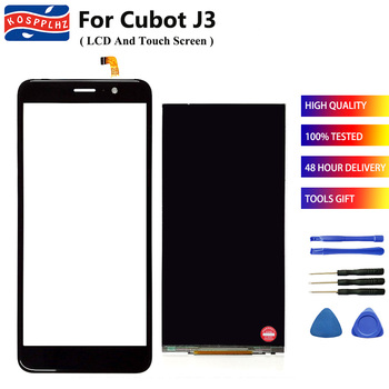 100 testowane nowy dla Cubot J3 wyświetlacz LCD + ekran dotykowy wymiana czujnika w digitizerze Cubot J3 akcesoria mobilne + narzędzia tanie i dobre opinie KOSPPLHZ Pojemnościowy ekran 960x540 3 For Cubot J3 black foam box 5 0 inches