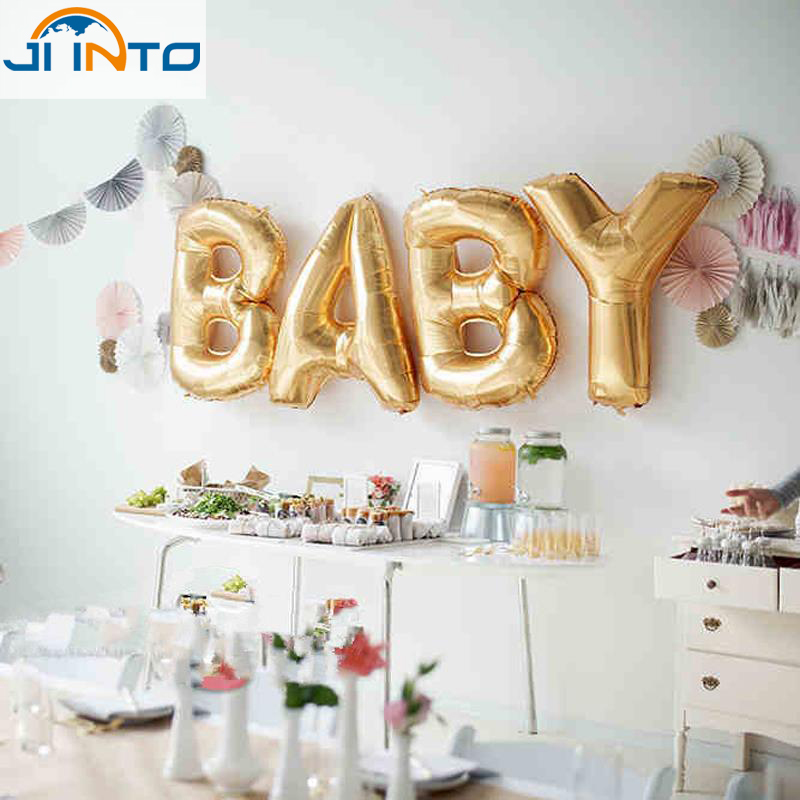 Buy 4pcs 16inch cute foil ballon helium for Baby shop decoration ideas
