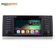 Android 4.4 1024*600 7 pulgadas E39 DVD Del Coche 1Din Pantalla Táctil de ALTA DEFINICIÓN Radio Reproductor de Android 4.4 WIFI QUAD Core Para BWM M5 E53 X5