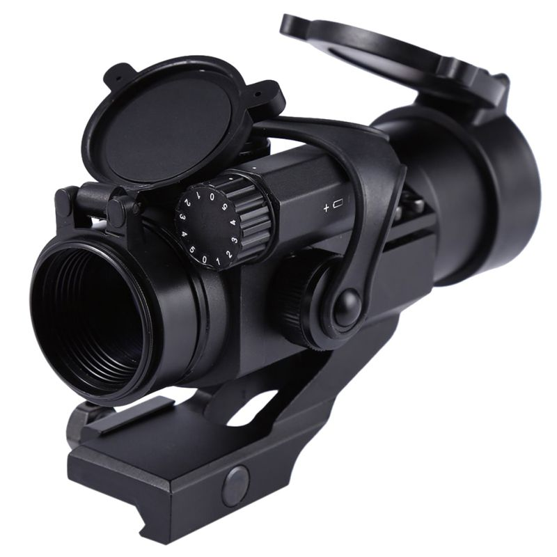 1x1 Green / Red Hunting Rifle Scope Red Laser Holographic Telescope Sight Scope New