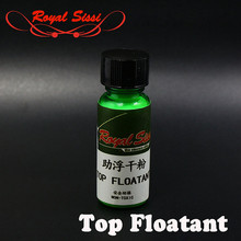 Hot 1bottle 20ML Top Floatant powder non-toxic floating powder for dry flies fly fishing addtive/ chemistry fly tying materials