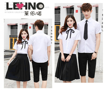 LEHNO Japanese high school uniform dress skirt