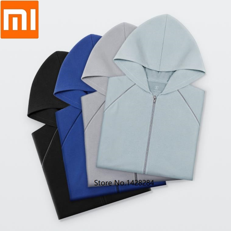 Xiaomi Lightweight cotton hooded air conditioning shirt Light comfortable soft Spring and autumn Man Cotton coat