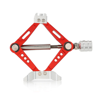 6 TON Aluminum Alloy Scale Adjustable Jack Stand for 1/10 RC4WD D90 SCX10 Rock Crawler RC Car
