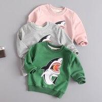 아기 소년 소녀 스웨터 유아 코트 봄