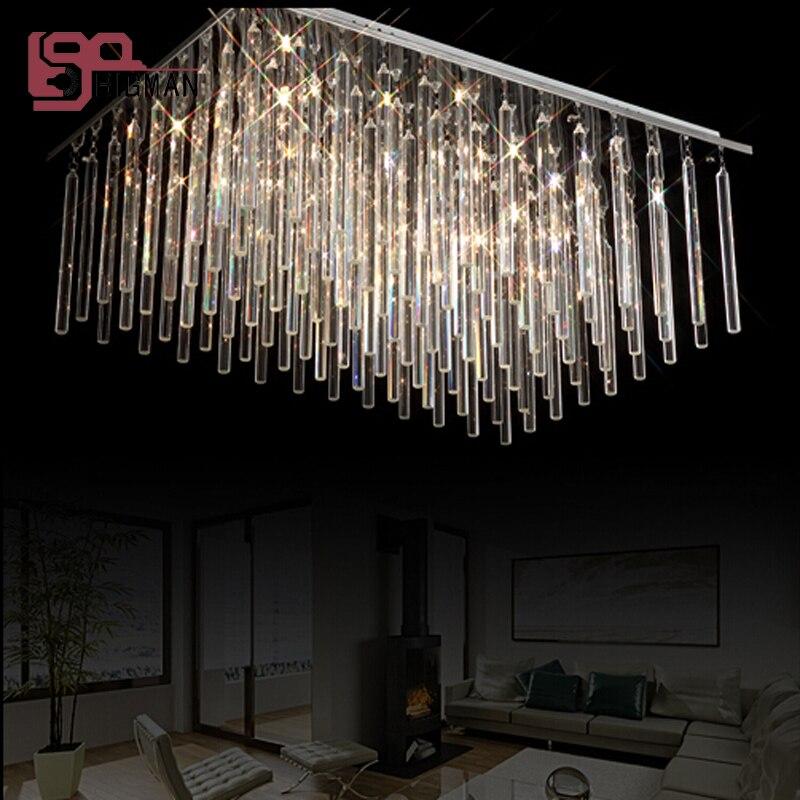Modern Rectangular Chandeliers popular modern rectangular chandelier-buy cheap modern rectangular