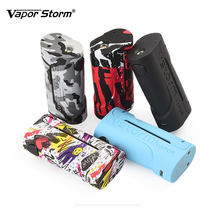 2018 New Vapor Storm ECO Box Mod 90W Max Out Put with 10s Continuous Vape Time No 18650 Battery Electronic Cigarette Vape Mod(China)