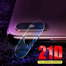 2PC 21D Back Camera Lens Transparent Clear Tempered Glass For Apple iPhone XS Max XR X 6 6S 7 8 Plus Protector Protectiv Film 9H