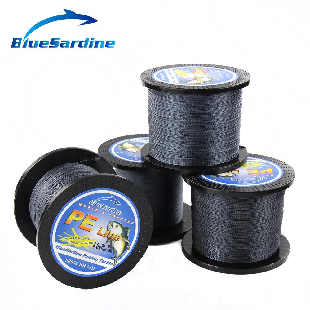 BlueSardine Örgülü Balıqçılıq Xətti 500M Multifilament PE - Balıqçılıq - Fotoqrafiya 2