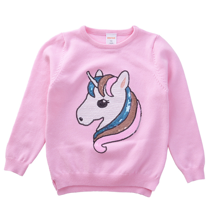 526a0d9aea2d Unicorn New Baby Toddler s Winter Clothes Boys Girls Knitted Sweater ...