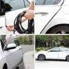 العالمي 10 M سيارة الباب حافة خدش حامي قطاع ختم الحرس تريم السيارات الباب ملصقات الديكور حامي سيارة التصميم