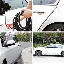 Универсальная 10 м защитная полоса для защиты от царапин на края двери автомобиля, уплотнительная накладка, автомобильные наклейки на дверь, украшение, протектор для стайлинга автомобиля