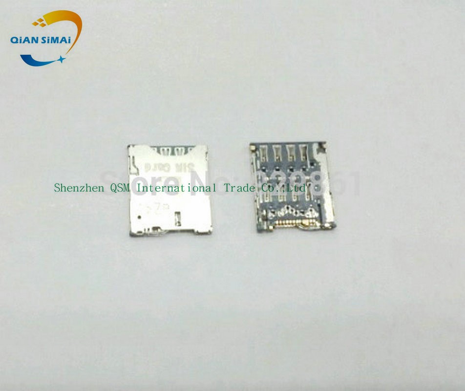 QiAN SiMAi 2PCS/Lot New Sim Card Reader Holder Tray Slot for HTC One S Z520e Mobile phone