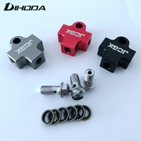 Hydraulic Brake Hose Pipe Tee Coupling Tee Fitting Tee Connector 3way Adapter For Motorcycle Dirt Pit