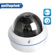 Caméra de Surveillance dôme extérieure IP POE HD 2MP/1080P, dispositif de sécurité sans fil, couleur jour et nuit, avec lentille Fisheye, 0,0001lux