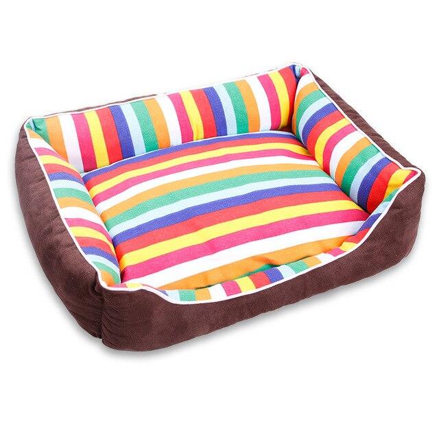 Us 1599 Miękkie łóżka Psa Ciepły Polar Krzesło Kanapa Dla Małej średniej Duży Pies Golden Retriever łóżko Husky Kennel Pet Products S