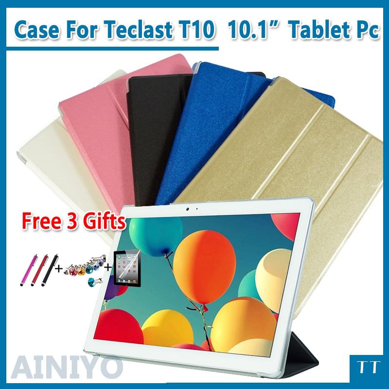 Ultra delgada de moda de cuero de la pu caso para Teclast T10 T20 10,1