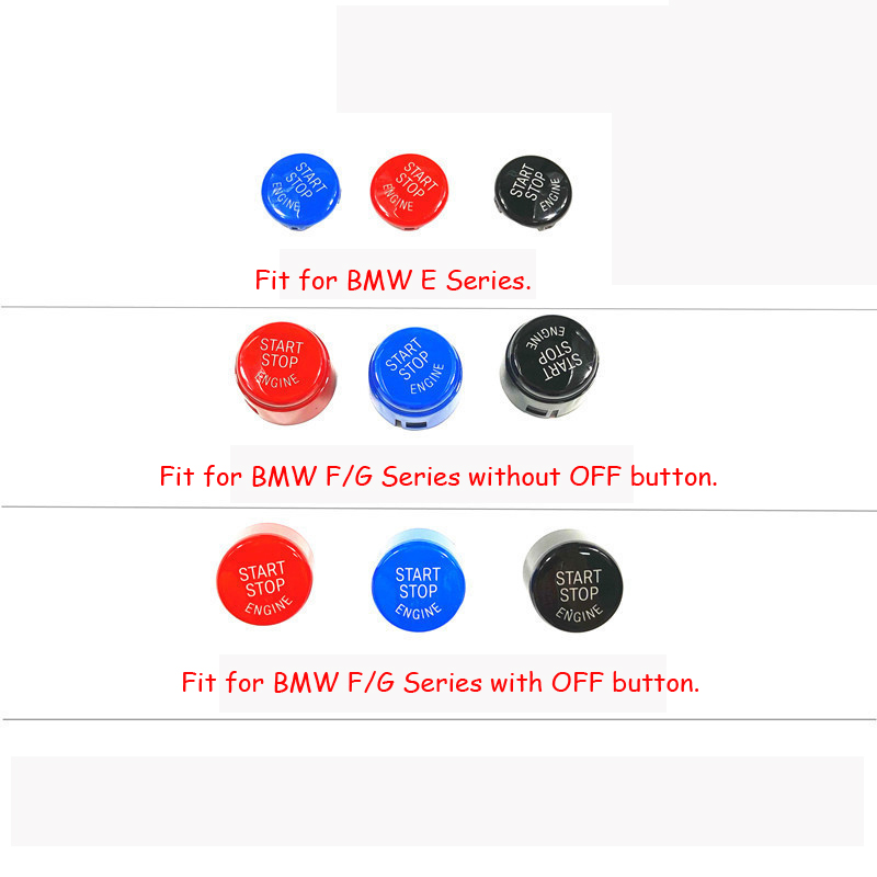 Start Stop engine Button Repair Replace Cover BMW 3 5 E F Series e90 e91 x1 GT 2