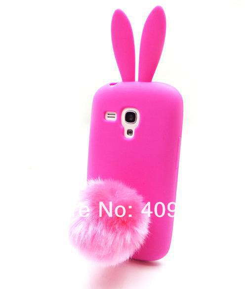 half off e1a41 bbd7a US $2.99 |Lovely Cute Bunny TPU Skin Rabbit Soft Back Case Cover for  Samsung Galaxy S3 Mini i8190 on Aliexpress.com | Alibaba Group