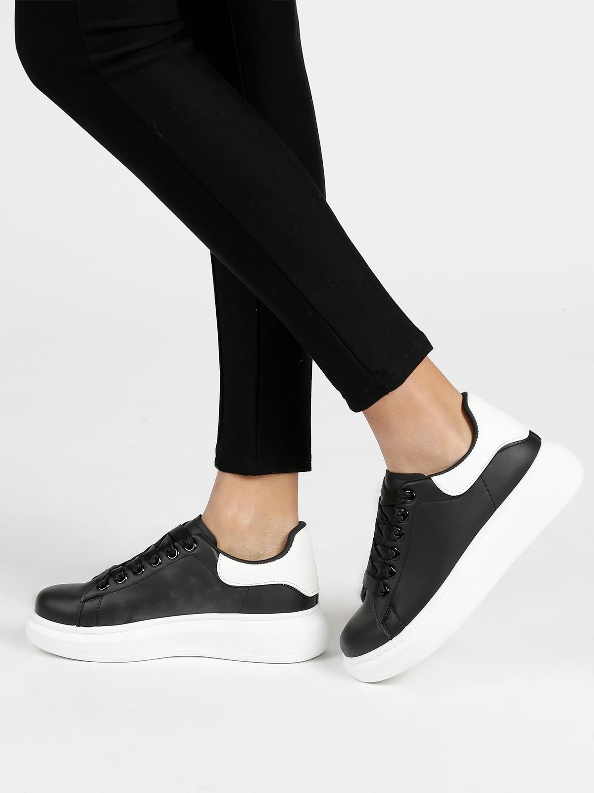 Sneakers Soled High Black