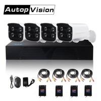 LS AKA2 4CH AHD DVR kits 1080P AHD CCTV Camera System 4 channel Home Security Day Night Vision CCTV Dvr Kit