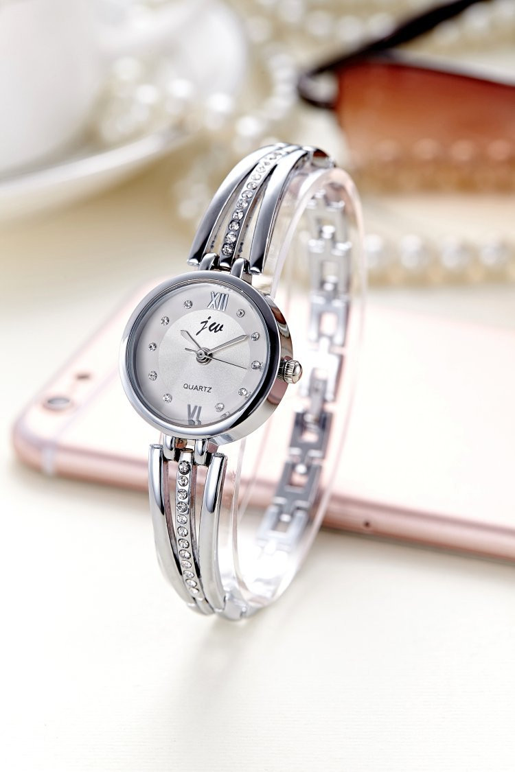 New Fashion Rhinestone Watches Women Luxury Brand Stainless Steel Bracelet watches Ladies Quartz Dress Watches reloj mujer AC070 13