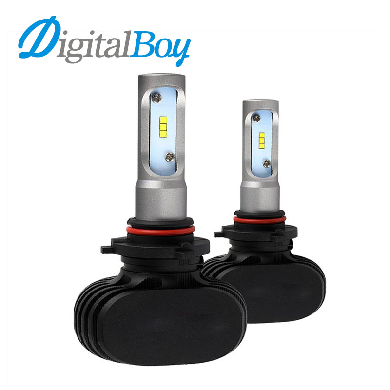 Digitalboy LED Headlight H7 Bulbs CSP LED H1 H3 H11 H8 H9 9005/HB3 9006/HB4 H4 9003 Hi/Lo Beam 50W 8000lm Car LED Headlights  xencn h7 9005 hb3 9006 hb4 hi lo beam h4 led car bulbs 6000k csp chips 52w headlight kits auto h8 h9 h11 led 9012 fog lamps