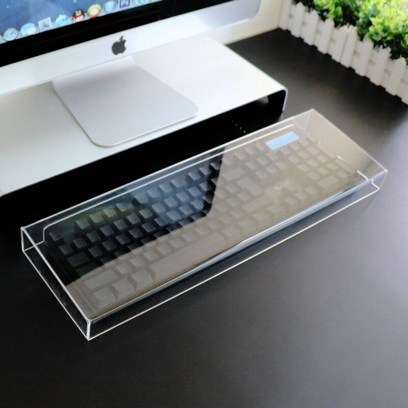 Transparent Arylic Dustproof Cover for Mechanical Keyboard Corsair K70 RGB Filco IKBC Cherry MX 8.0 Keyboard G903 G603(China)