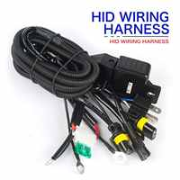 12V 35W 55W HID Bi xenon H4 Wire Harness Controller for Car Headlight Retrofit connect hid bixenon projector lens