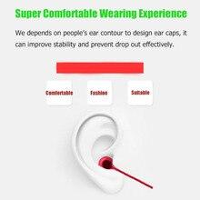 Esporte Fones De Ouvido Super Bass fone de ouvido de Metal Fone De Ouvido Com Fio de Crack de 3.5mm Fone de Ouvido Intra-auriculares com Microfone Mãos Livres Fone de Ouvido para Samsung MP3