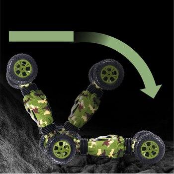 Coche De Control Remoto 4WD Fuera De La Carretera Deformación De Vehículos Giratorios Para Escalada De Coches 2,4G De Alta Velocidad Eléctrico Para Niños Hobby Juguetes