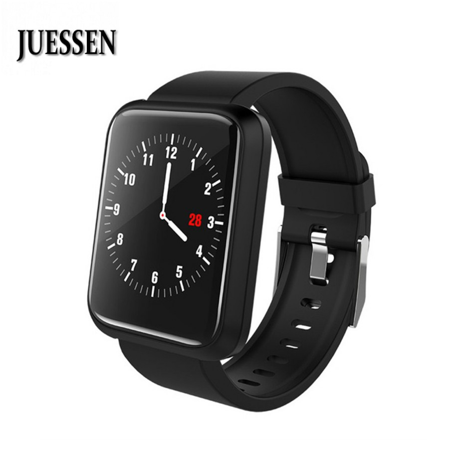 Sport 3 Smart Uhr Männer Frauen Blut Druck IP68 Wasserdichte Fitness Tracker Uhr Smartwatch Für IOS Android Tragbare Geräte