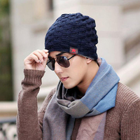 2016 Cotton Knitted Hats Men S Winter Hats Fashion Cap Sale Free Shipping