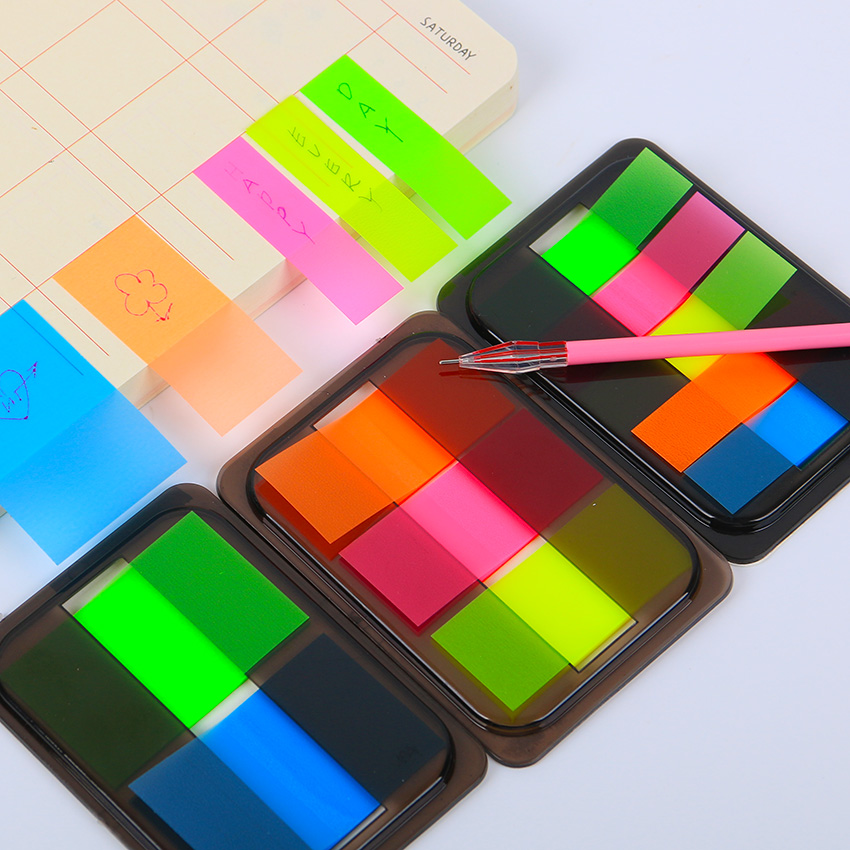1pcs diy new cute kawaii colored memo pad lovely sticky paper post it note school office