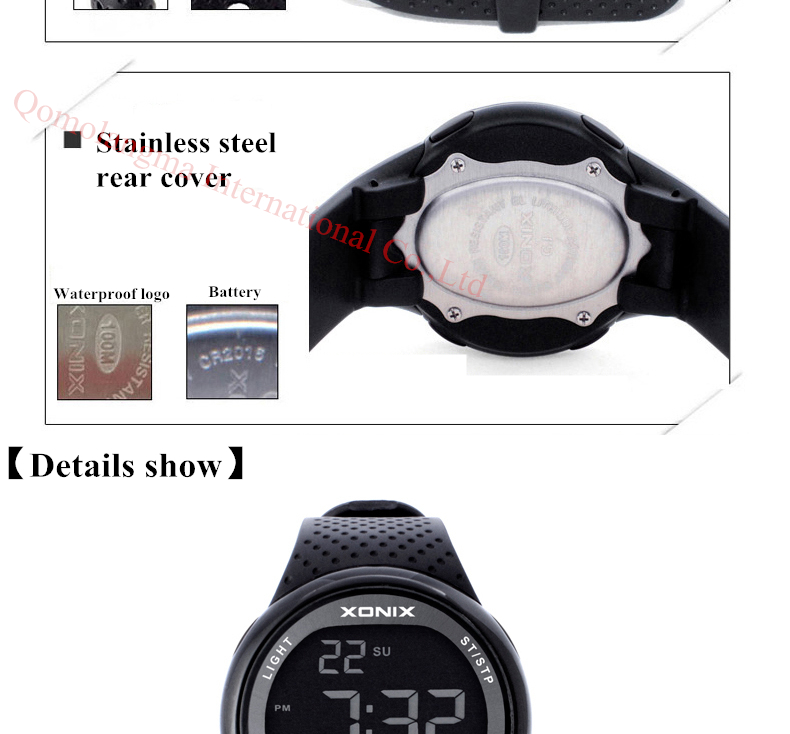 HTB1X0VFRpXXXXc2apXXq6xXFXXX6 - XONIX Sport Watch for Men
