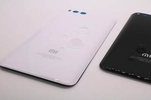 Image 2 - ثلاثية الأبعاد الزجاج ل mi 6 غطاء البطارية قطع الغيار ل Xiao mi mi 6 mi 6 بطارية الغطاء الخلفي الباب هيكل للهاتف حافظة شحن مجاني