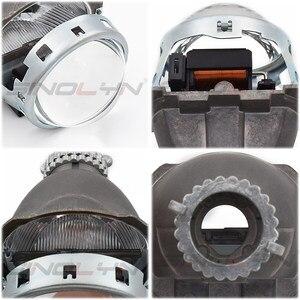 Image 4 - طقم تصليح عدسات ثنائية زينون لسيارات BMW E46 3 Series ZKW D2S زينون المصباح 1998 2005 عدسات HID ملحقات استبدال لتقوم بها بنفسك