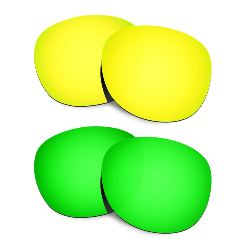 2 pares HKUCO para Latch gafas de sol lentes de reemplazo polarizadas  colores 24 K oro ee35b664a0