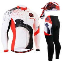 Cycling Men Riding Equipment Set culotte ciclismo GEL Pad Bicycle Clothing Sets 2017 New Spring and Autumn Cycling Sets