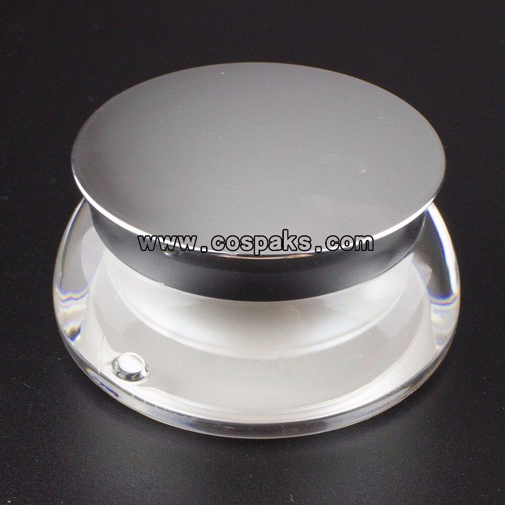 plástico recipientes de topo, cospack 15g vazio frasco de creme facial